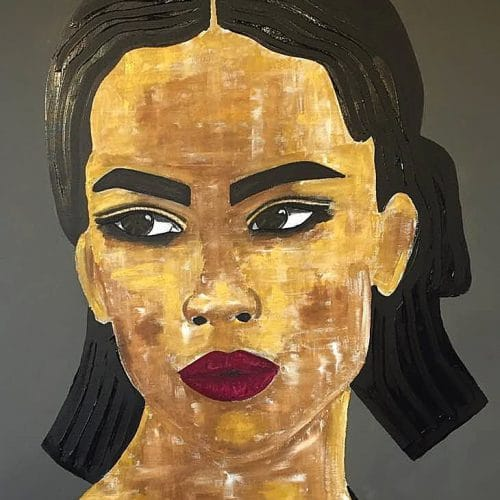 Ana (soleil -Afrique) - 116x89cm